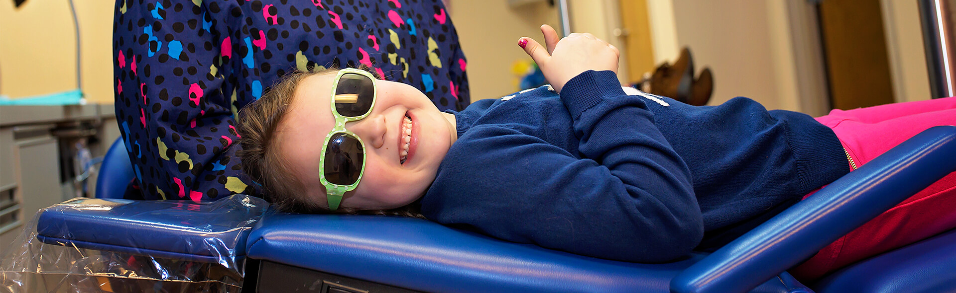 Girl in shades - Pediatric Dentist in Hales Corners, WI