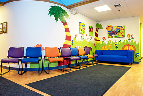 Waiting Area - Pediatric Dentist in Hales Corners, WI